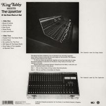 King Tubby meets The Upsetter - At The Grass Roots Of Dub [LP]
