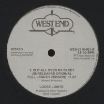 "Loose Joints (Arthur Russell) - Is It All Over My Face? (incl. Kon edit) [12""]"