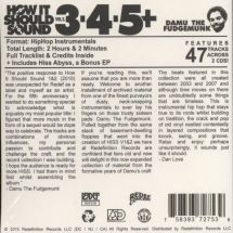 Damu The Fudgemunk - How It Should Sound Vol. 3+4+5 [2CD]
