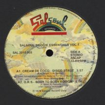 "VA - Salsoul Boogie Essentials Vol.1 [12""]"