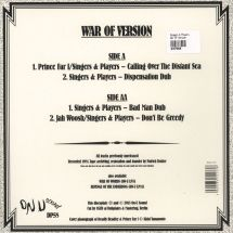 "Singers & Players - War Of Version [10""]"