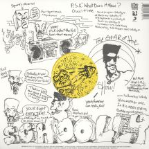 "Schoolly D - P.S.K. What Does It Mean?/ Gucci Time [12""]"