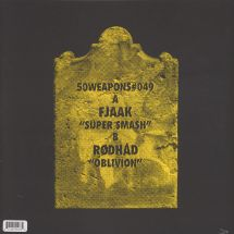 "FJAAK/ Rodhad - Super Smash/ Oblivion [12""]"