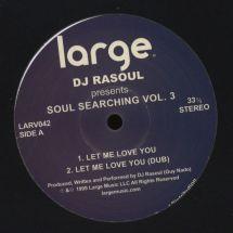 """DJ Rasoul - Soul Searching Vol. 3 [12""""]"""