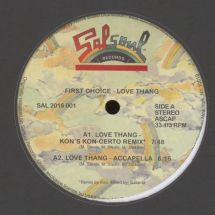 "First Choice - Love Thang (incl. Kon rmx) [12""]"