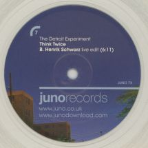 "The Detroit Experiment - Think Twice - Henrik Schwarz Remixes [12""]"
