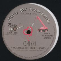 """Gina - Hooked On Your Love [12""""]"""