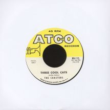 """The Coasters - Three Cool Cats/ Down In Mexico [7""""]"""