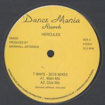 "Hercules (Marshall Jefferson) - 7 Ways (2016 Mixes) [12""]"