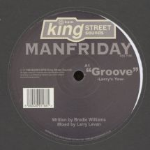 "Manfriday ft. Larry Levan - Groove/ Winners [12""]"