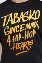 Koszulka Tabasko - Hearts - czarna [t-shirt]