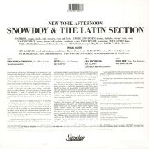 Snowboy & The Latin Section - New York Afternoon [2LP]