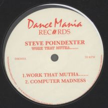 "Steve Poindexter - Work That Mutha... [12""]"