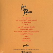 J Dilla - Jay Love Japan [CD]