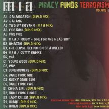 M.I.A./ Diplo - Piracy Funds Terrorism: Volume 1 [2LP]