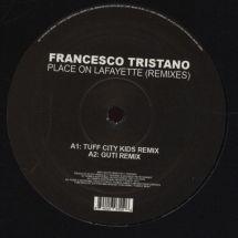 """Francesco Tristano - Place On Lafayette - Remixes [12""""]"""
