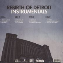J Dilla - Rebirth Of Detroit Instrumentals [2LP]