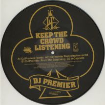 """Lord Finesse - Keep The Crowd Listening - DJ Premier RMX (picture disc) [10""""]"""