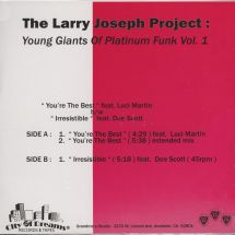 """The Larry Joseph Project - Young Giants Of Platinum Funk Vol.1 [12""""]"""