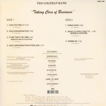 Ted Coleman Band - Taking Care Of Business [LP]