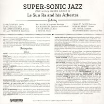 Sun Ra and His Arkestra - Super-Sonic Jazz [LP]