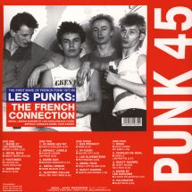 VA - Punk 45: Les Punks: The French Connection - The First Wave Of French Punk 1977-80 [2LP]