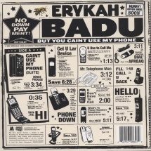 Erykah Badu - But You Caint Use My Phone [LP]
