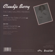 """Claudja Barry - Love For The Sake Of Love/ Sweet Dynamite (Mike Maurro Mixes) [12""""]"""
