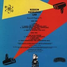 Riddim Research Lab - Research Program #1 [LP]