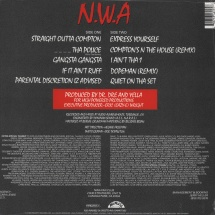 NWA - Straight Outta Compton (Back To Black 25th Anniversary Edition) [LP]