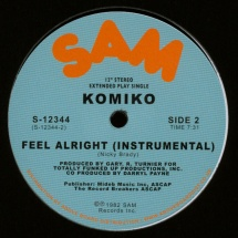 "Komiko - Feel Alright [12""]"