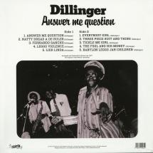 Dillinger - Answer Me Question [LP]