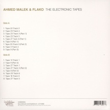 Ahmed Malek - The Electronic Tapes [LP]