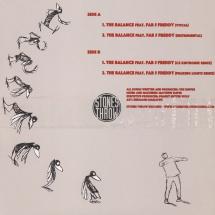 "Vex Ruffin & Fab 5 Freddy - The Balance (incl. Peaking Lights Remix) [12""]"