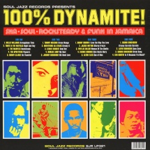 VA - 100% Dynamite! - Ska, Soul, Rocksteady & Funk In Jamaica - 2015 Remastered Expanded Edition [2LP]
