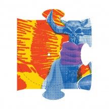 """DJ Q-Bert - Extraterrestria Puzzle Piece #6 [12""""]"""