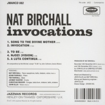 Nat Birchall - Invocations [LP]