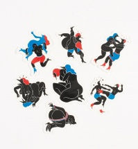 Naklejki by Parra - Sticker Pack - Fight Collection [pakiet]