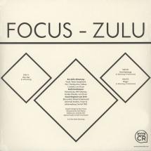 """Focus - Zulu EP [12""""]"""