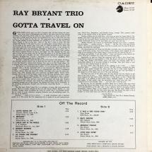 Ray Bryant Trio - Gotta Travel On [LP]