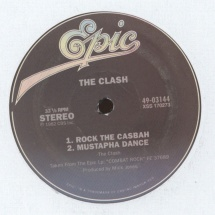 "The Clash - Rock The Casbah/ The Magnificent Seven [12""]"