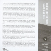 """Rob Mehl - House On The Rock/ Taste And See [7""""]"""