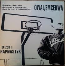 "Ascetoholix/ Owal Emcedwa - Apogeum/ Rapnastyk [2x12""]"