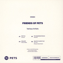 """Earth Trax/ Seltron 400/ The Analog Roland Orchestra/ Adam Port & Jennifer Touch - Friends Of Pets 1 [12""""]"""