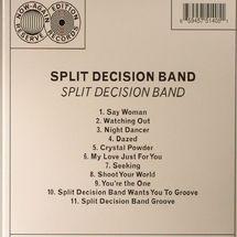 Split Decision Band - Split Decision Band [CD]