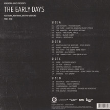 VA - The Early Days: Post Punk, New Wave, Brit Pop & Beyond 1980-2010 [2LP+CD]