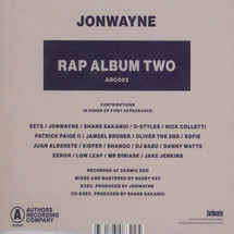 Jonwayne - Rap Album Two [CD]
