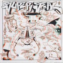 DJ Q-Bert - Super Seal In 3D (Colored Vinyl Edition) [LP]