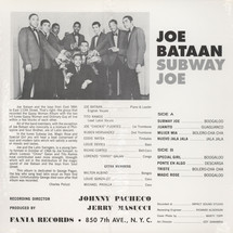 Joe Bataan - Subway Joe [LP]