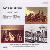Raw Soul Express - Best Kept Secret [LP]